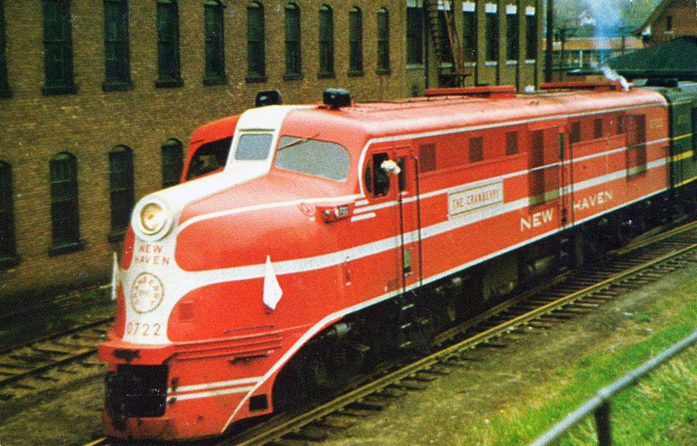 New Haven Railroad ROGER WILLIAMS Railroad Train Poster D.C to Boston Print 036