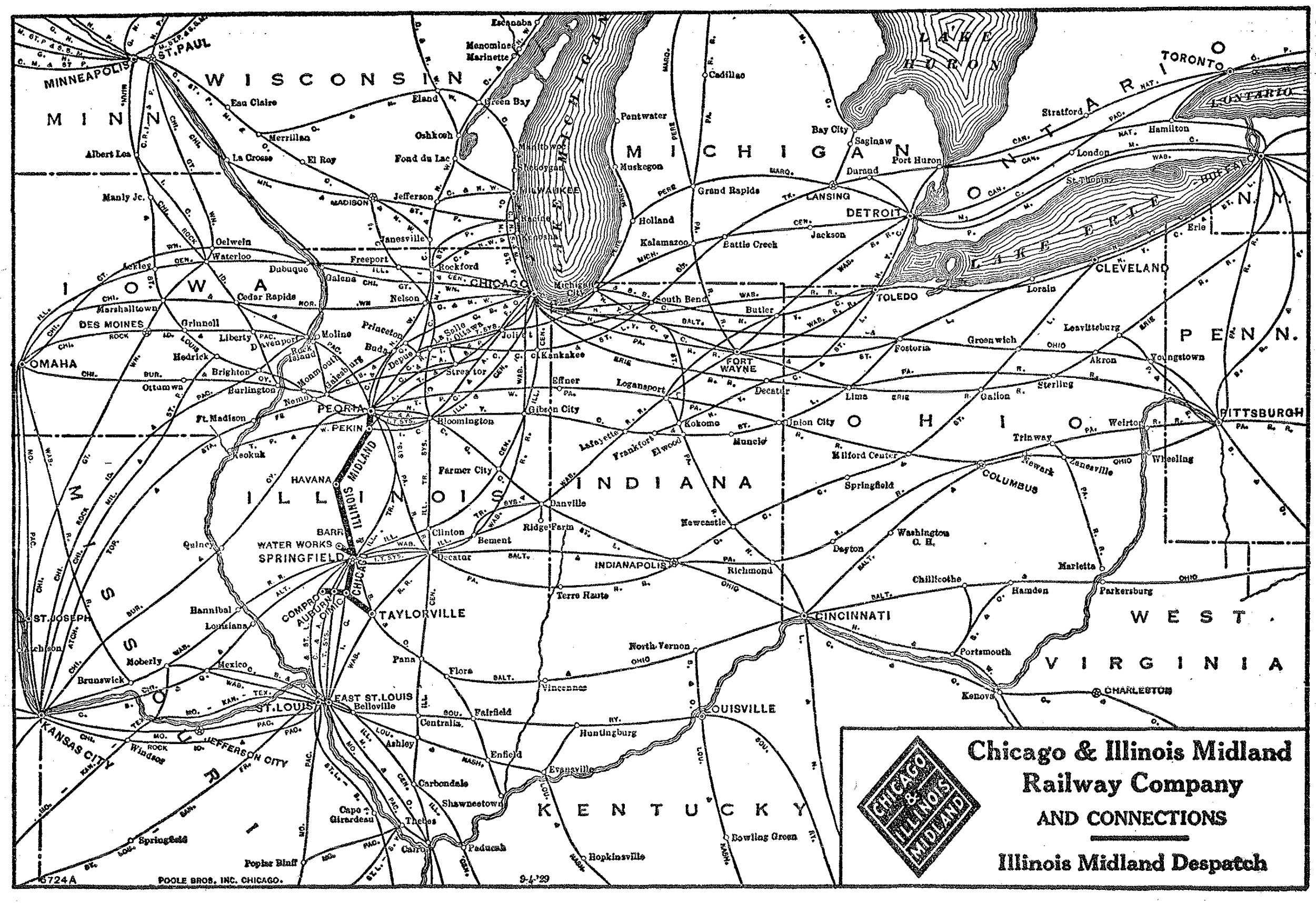 Chicago and Illinois Midland Railway on baltimore and ohio railroad, norfolk southern railway, illinois mining map, illinois river map, csx transportation, illinois terminal 2301, grand trunk western railroad, illinois michigan canal trail map, canadian national railway company, lehigh valley railroad, illinois high speed rail map, southern railway, central illinois map, great northern railway, union pacific railroad, atchison, topeka and santa fe railway, illinois pennsylvania map, city of new orleans, soo line railroad, chicago, rock island and pacific railroad, northbrook mall map, burlington northern railroad, illinois western railroad, mississippi rail map, illinois city boundary map, illinois america map, illinois train map, old chicago downtown map, kansas city southern railway, dwight nd map, louisville and nashville railroad, city of miami, illinois county map, illinois central railroad, new york central railroad, illinois highway map, illinois map marion il, southern pacific railroad, pennsylvania railroad, air force bases in illinois map,