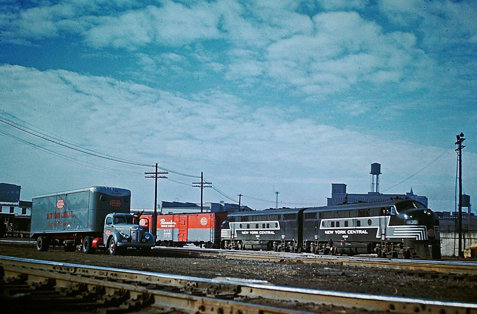 Vice Versa Nyc >> New York Central Railroad: Map, Photos, History & More