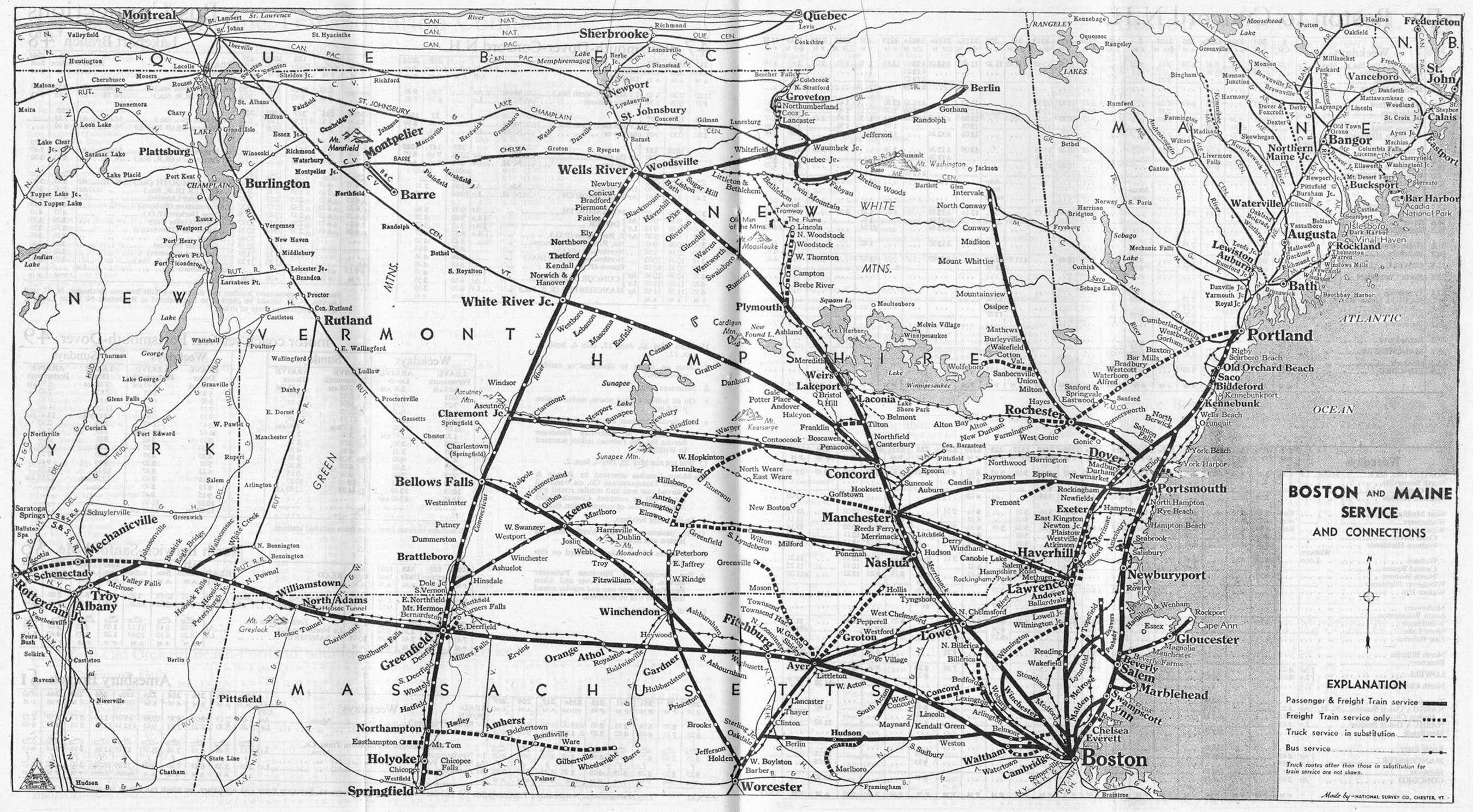 Boston and Maine Railroad, The B&M on map of arlington ma, map of harrisville nh, map of stewartstown nh, map of landaff nh, map of marlborough nh, map of concord nh, map of south hadley ma, map of worcester ma, map of framingham ma, map of methuen ma, map of rochester nh, map of epping nh, map of hillsboro nh, map of kingston nh, map of goshen nh, map of stratford nh, map of strafford nh, map of merrimack nh, map of newport nh, map of alton nh,