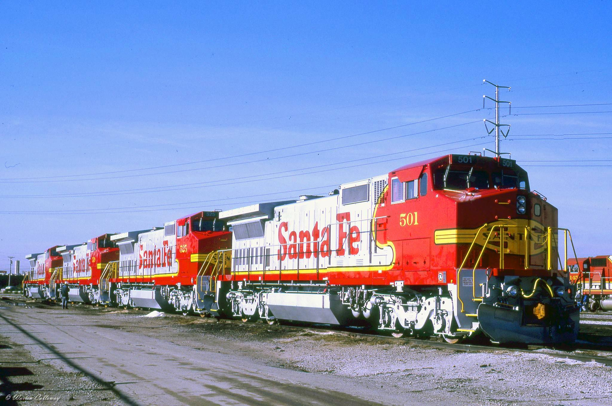 Santa Fe S Warbonnet Locomotives History And Photos