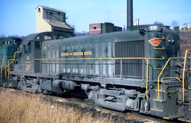 The Lehigh And Hudson River Railway