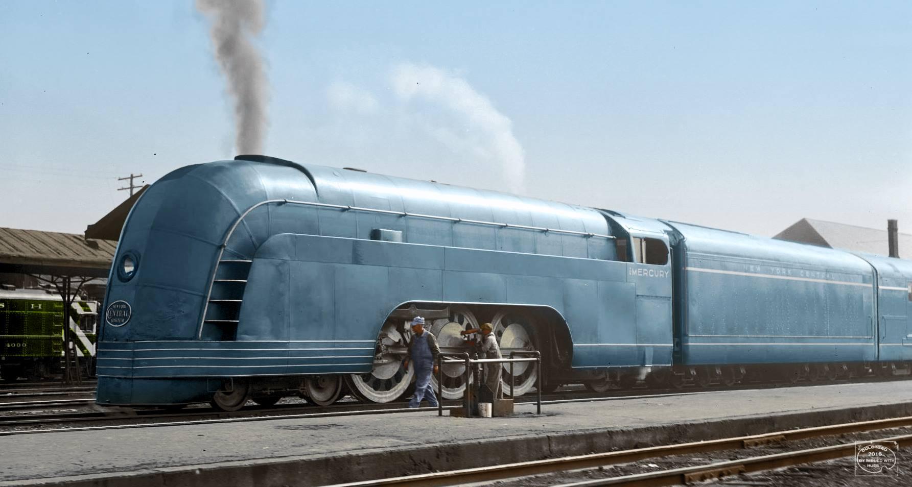 The NYC's Mercury Henry Dreyfuss Train