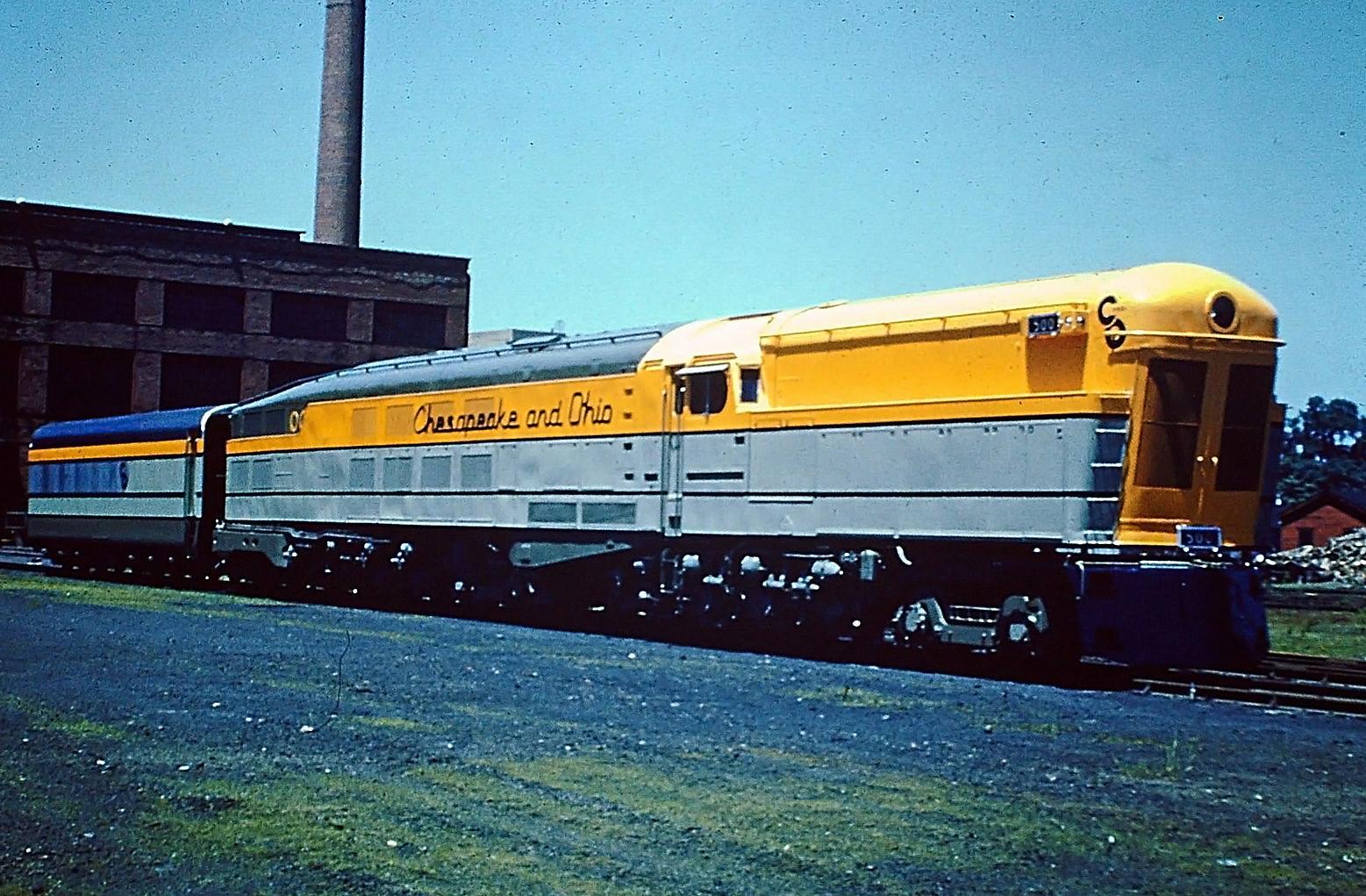 "Chesapeake & Ohio's ""M-1"" Steam Turbine Locomotive"