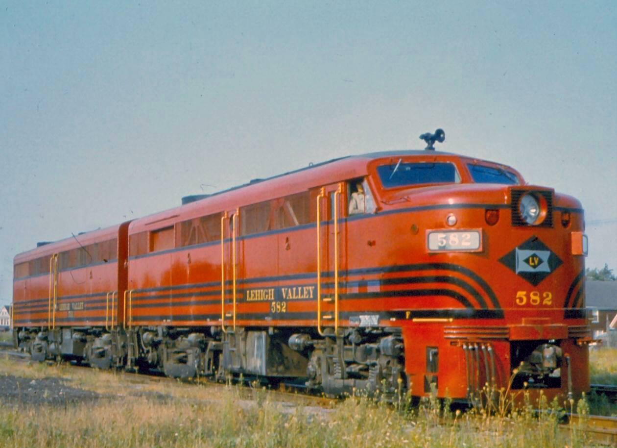 Lehigh Valley Railroad History Map Photos More