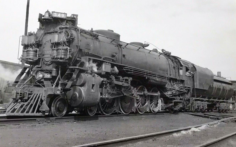 Chesapeake & Ohio 4-8-2 (Class J)