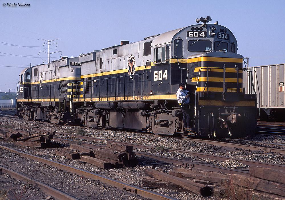 The Belt Railway Of Chicago