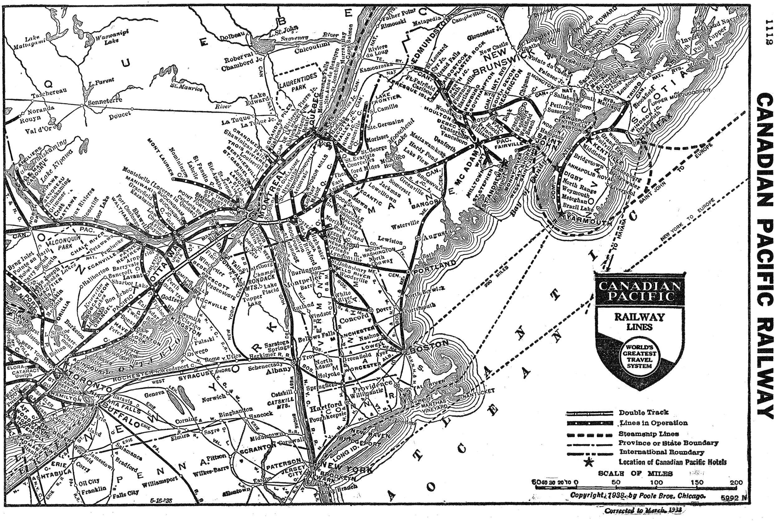 canadian pacific system map Canadian Pacific Railway History Map Photos More canadian pacific system map