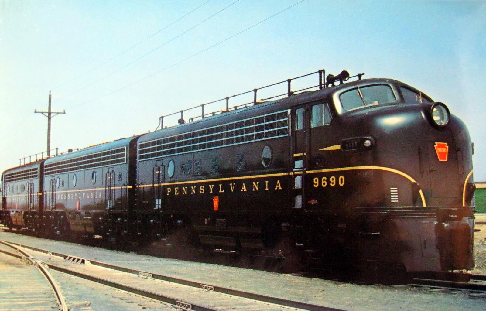 "Pennsylvania Railroad RF16 # 2000  8/"" x 10/"" Photo"