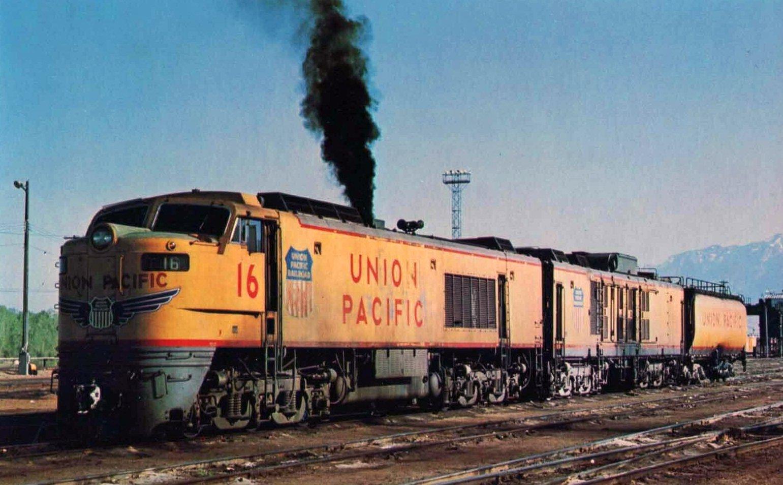 Gas Turbine Locomotives Union Pacific Startup Hp Length
