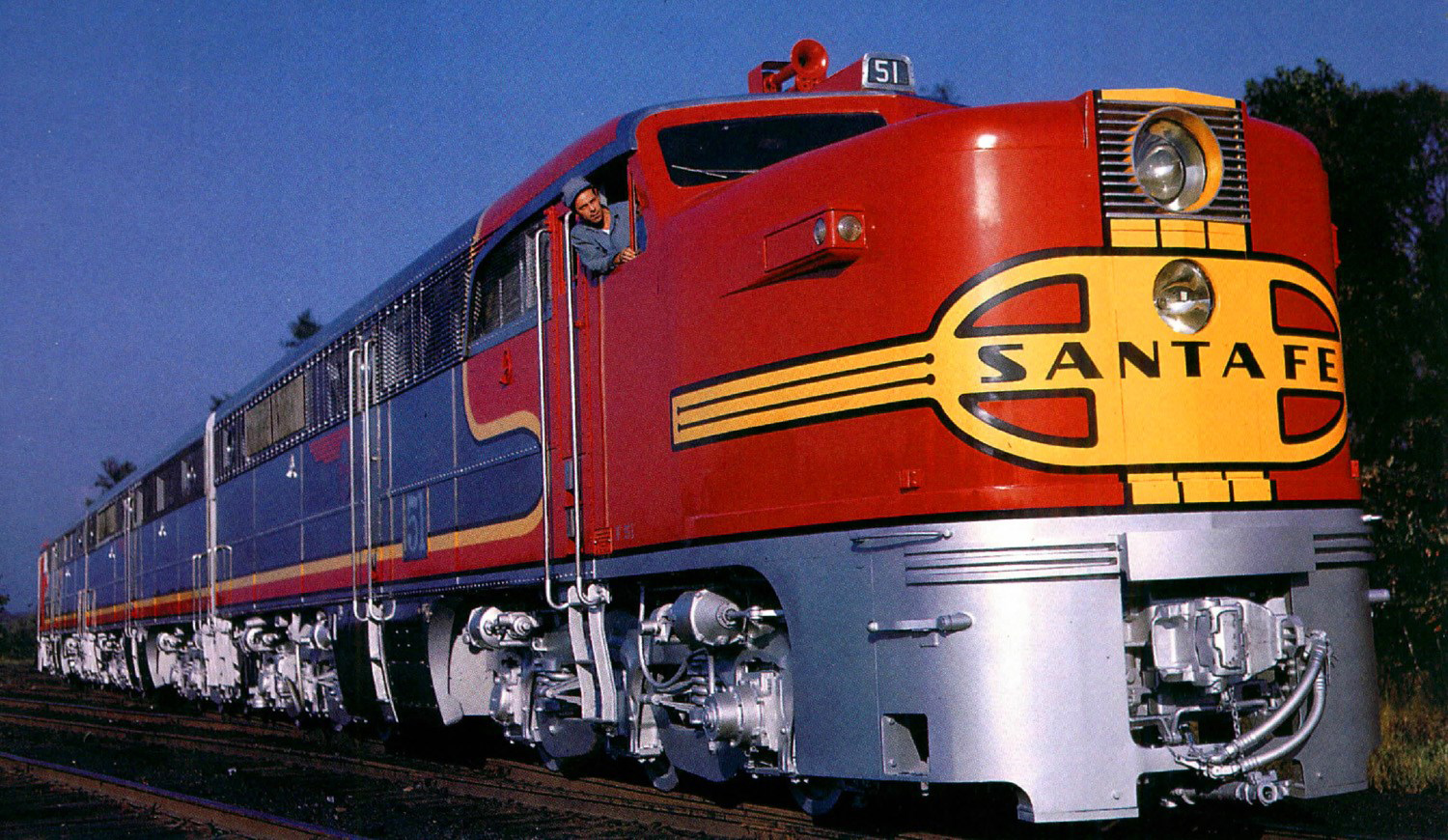 Image result for atsf pa diesel locomotives in california