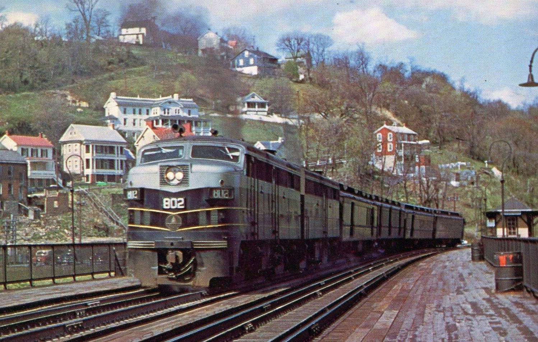 Baltimore And Ohio The B Amp O Railroad