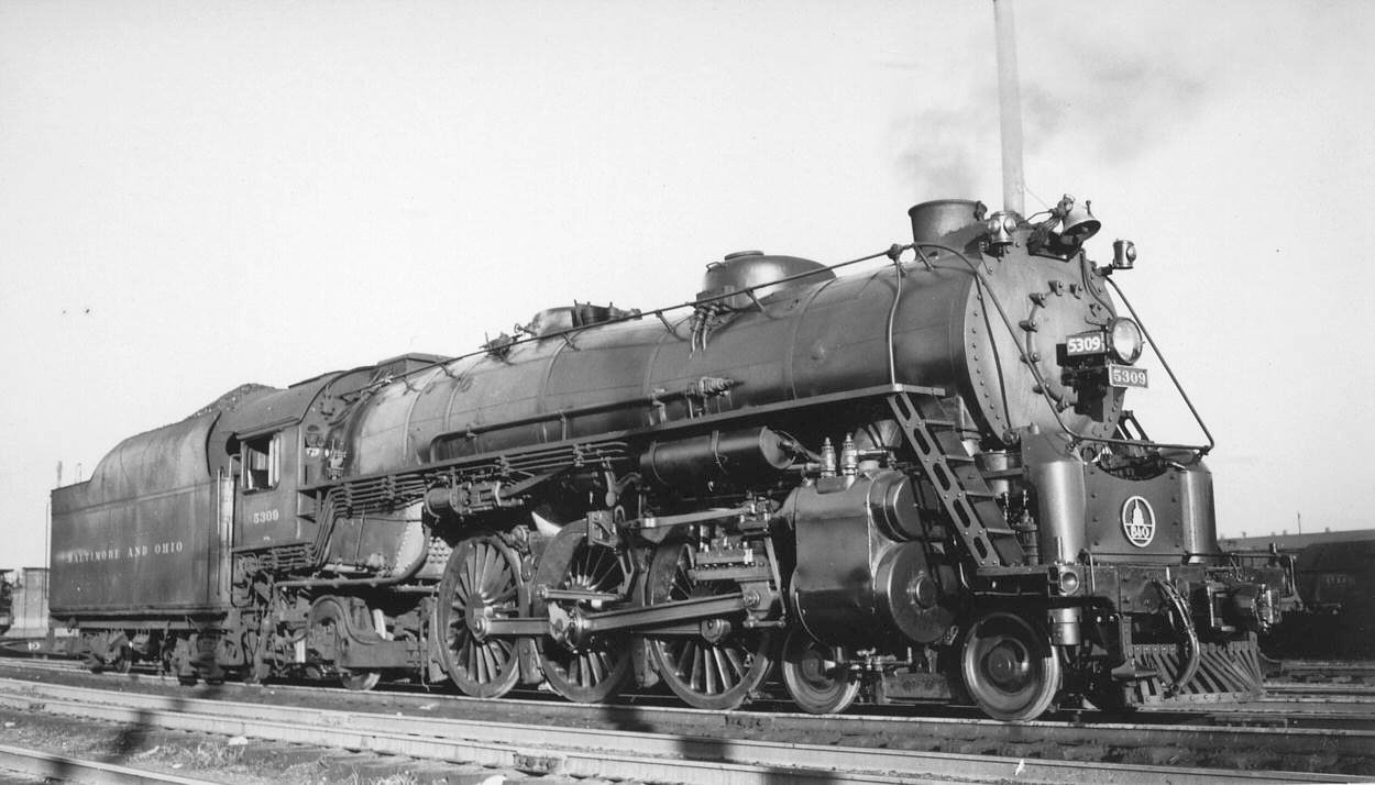 Image result for b&o pacific