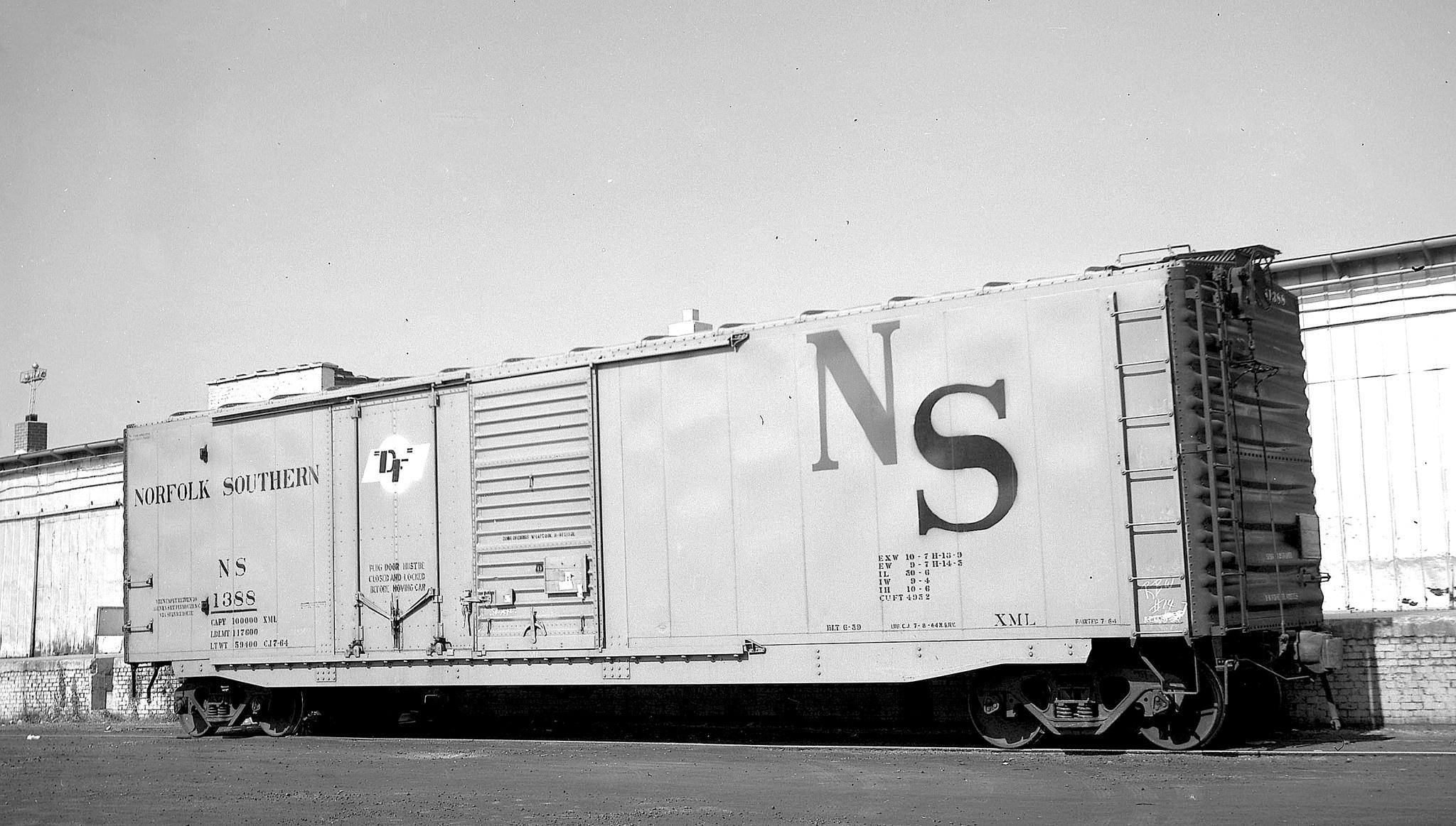 Railroad Boxcars