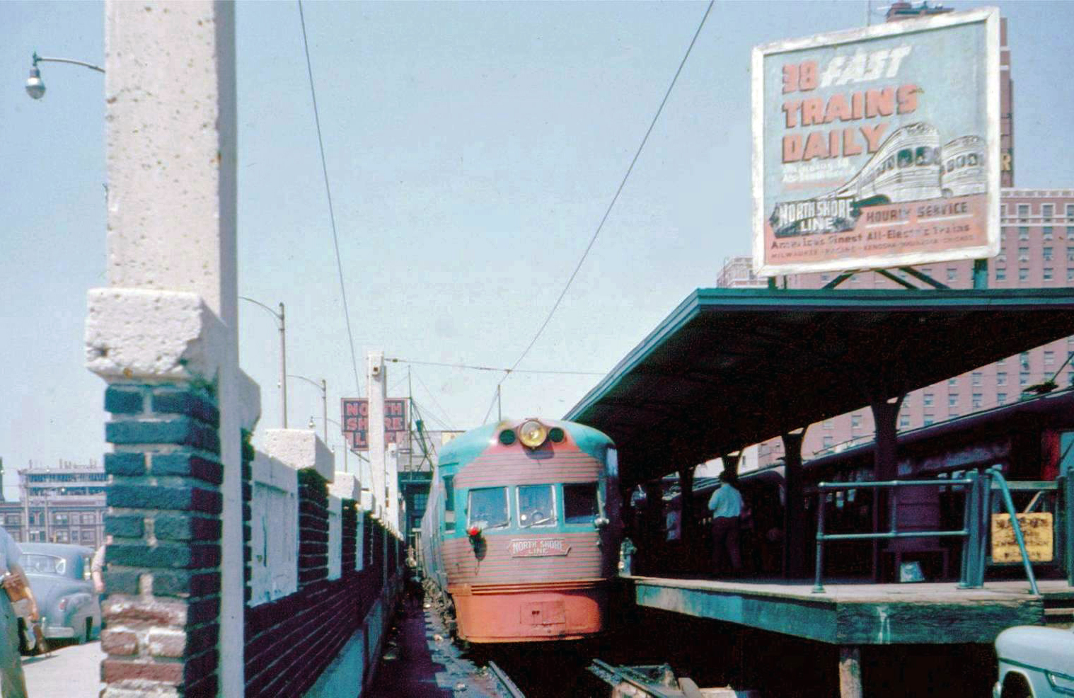 The North Shore Line S Electroliners
