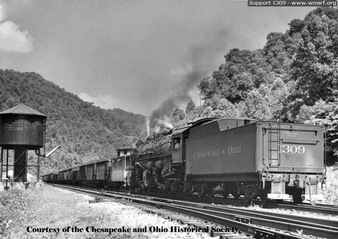 Chesapeake Amp Ohio 2 6 6 2 1309