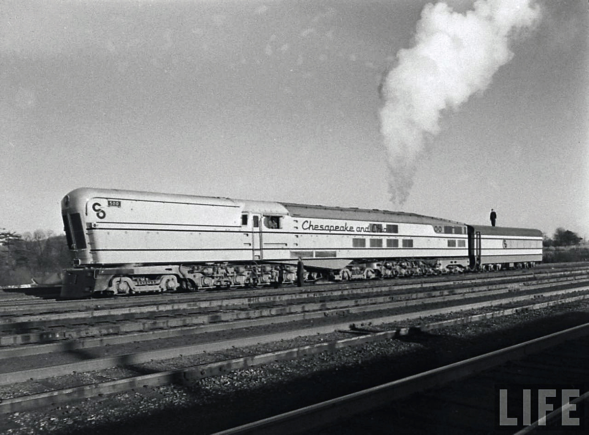 Perhaps the failure of the M-1's and the Chessie was all of the best. While the C&O was struggling to get the train in service rival Baltimore & Ohio ...