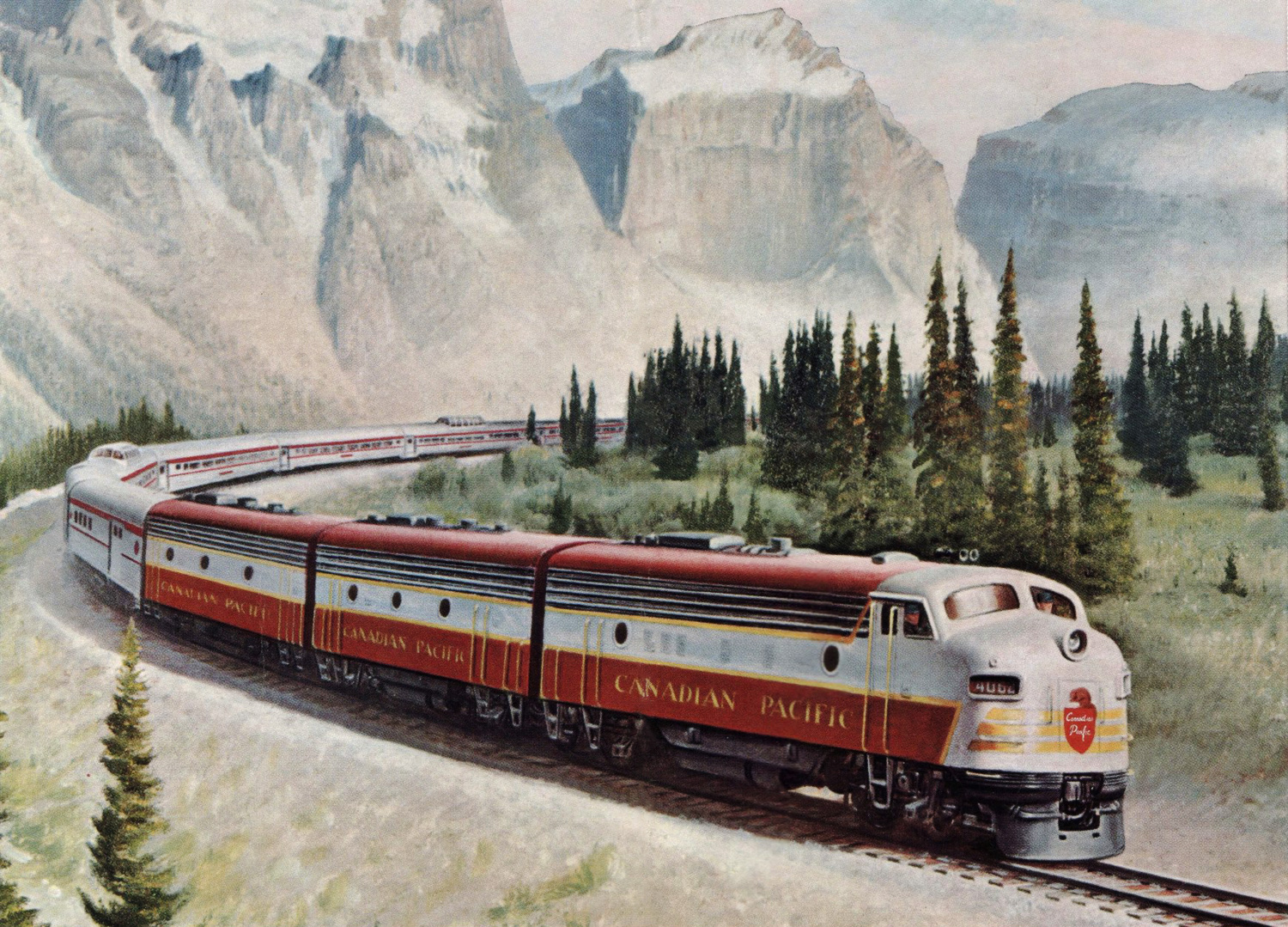the canadian pacific railway Cp has a railroader philosophy it doesn't change it's binary it's made of a metal that doesn't bend, melt or dent we plug in this philosophy to new techn.