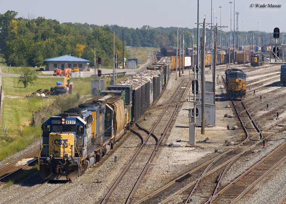 A Rail Yard ...