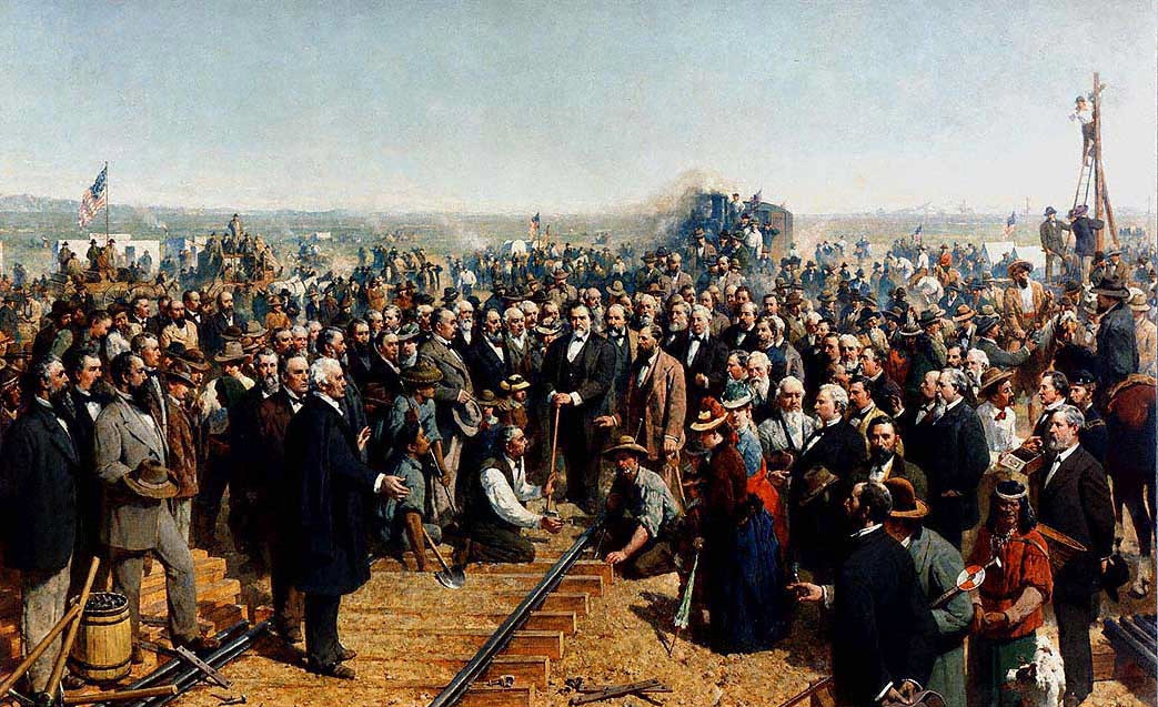 The Transcontinental Railroad Who Built It And Why
