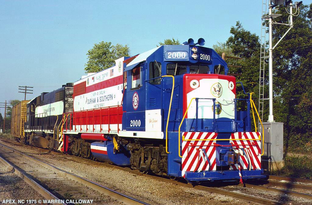 The Durham Amp Southern Railway