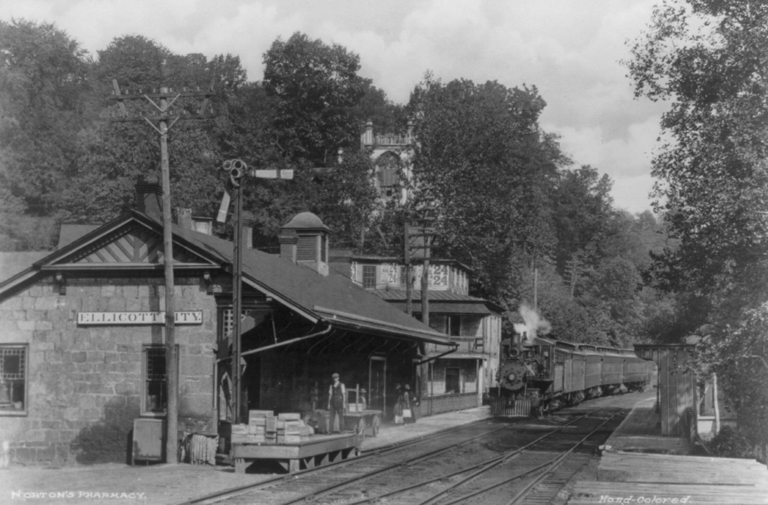 Ellicott City Depot