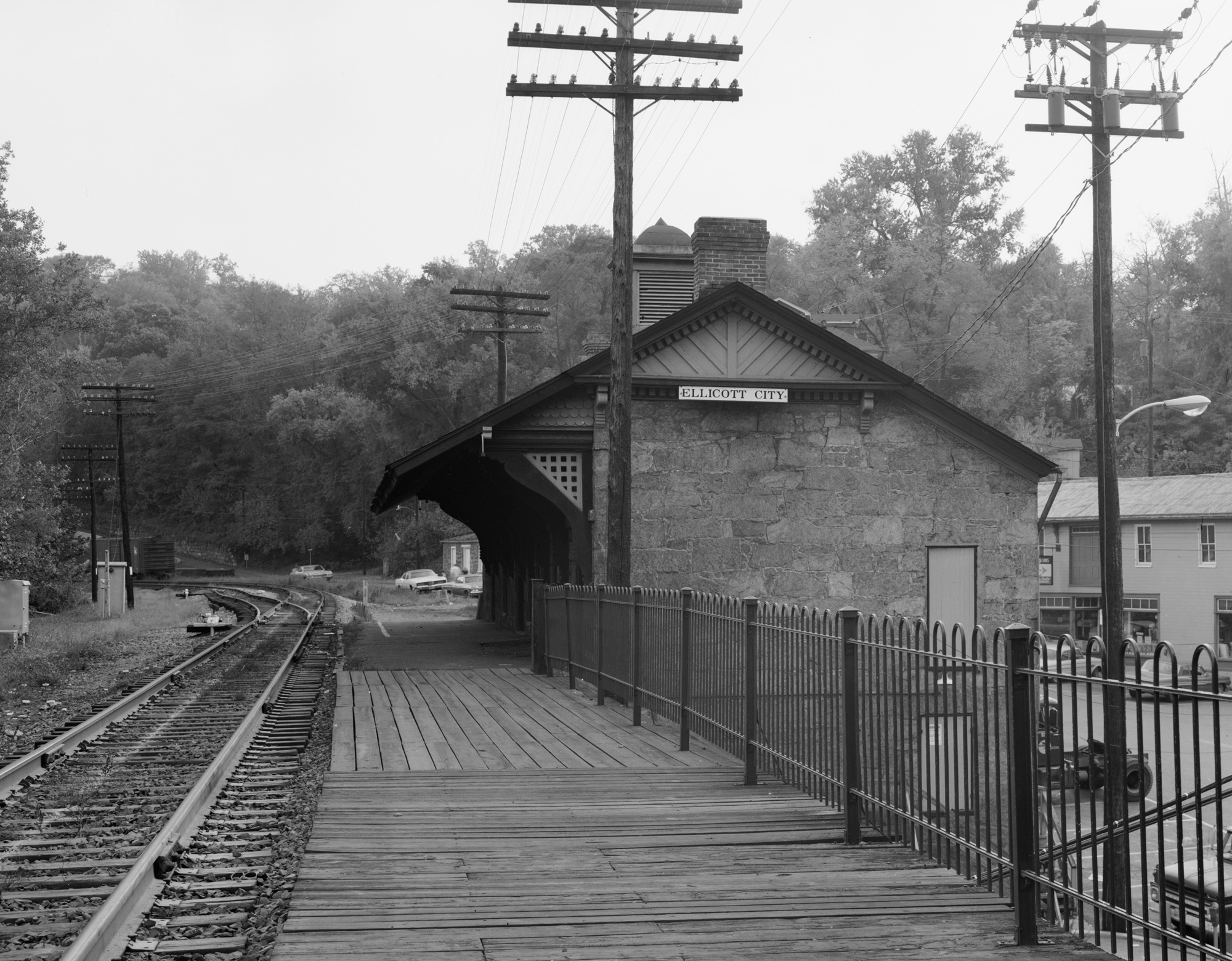 The Ellicott City Depot