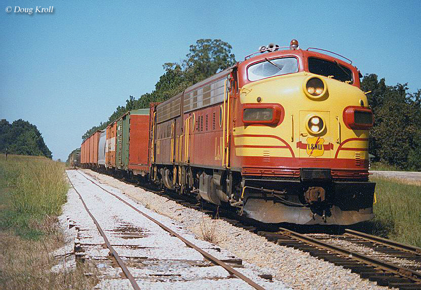 The Louisiana North West Railroad