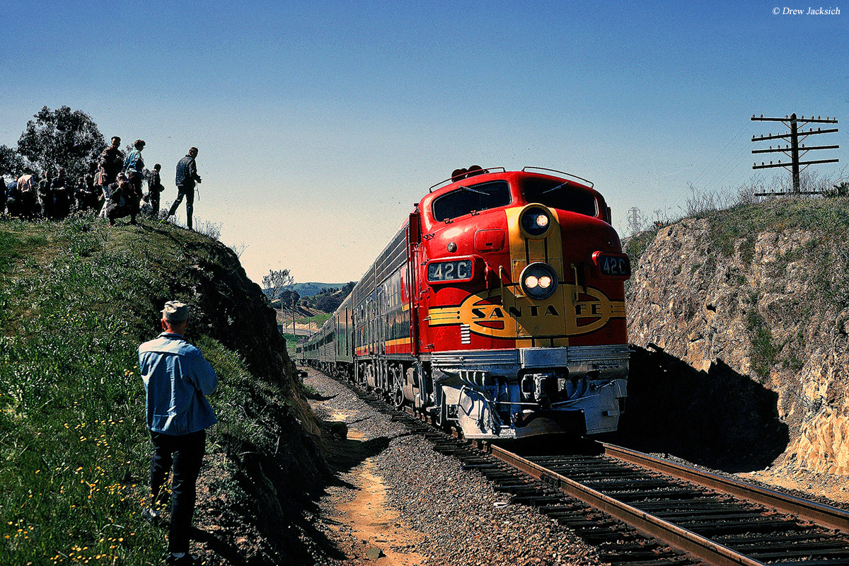 The Atchison Topeka And Santa Fe Railway