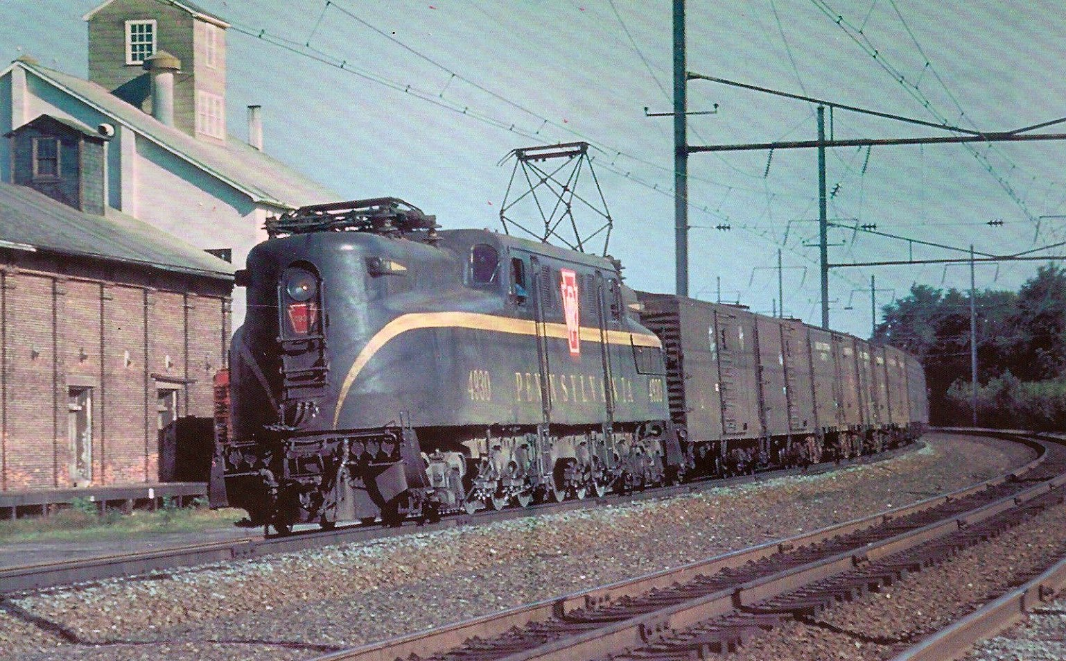 The Pennsylvania Class Gg1