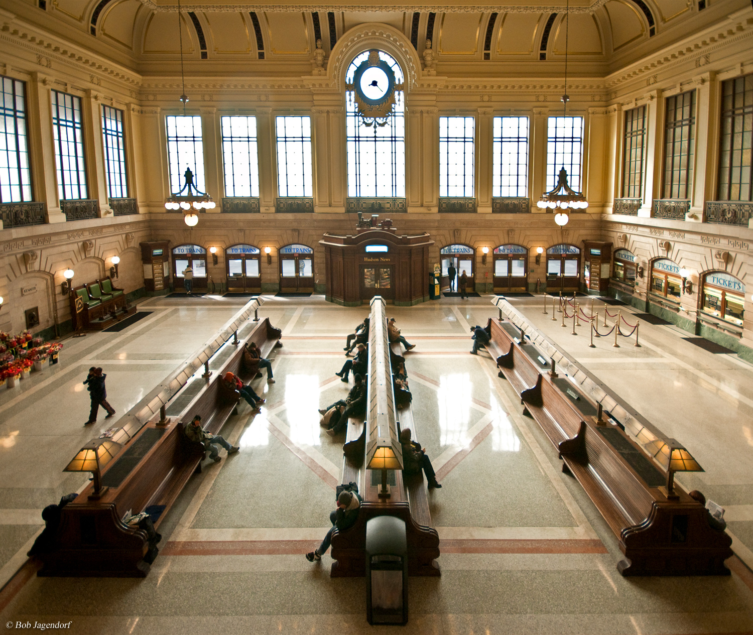 A history of the hoboken terminal for W hoboken in room dining