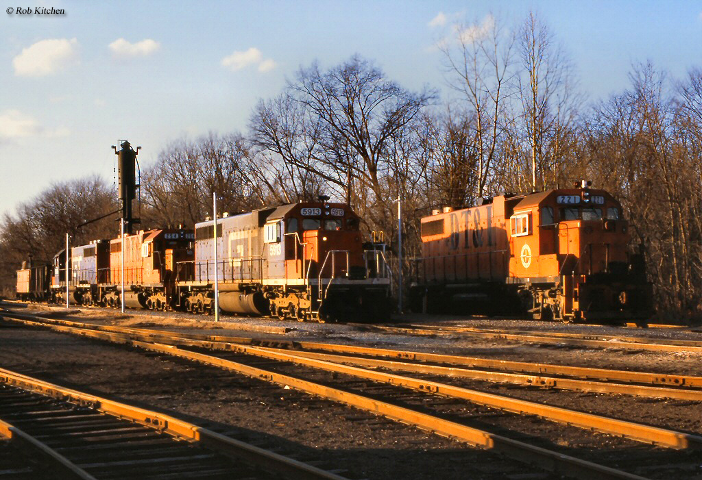 Build A Ford >> The Detroit, Toledo and Ironton Railroad