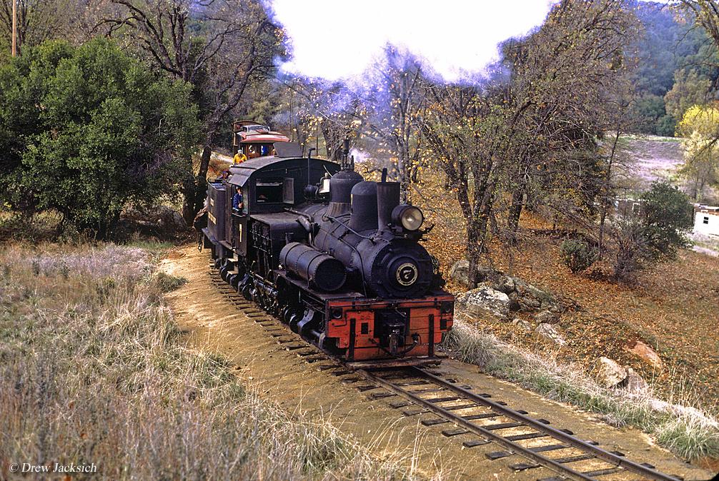 california logging railroads