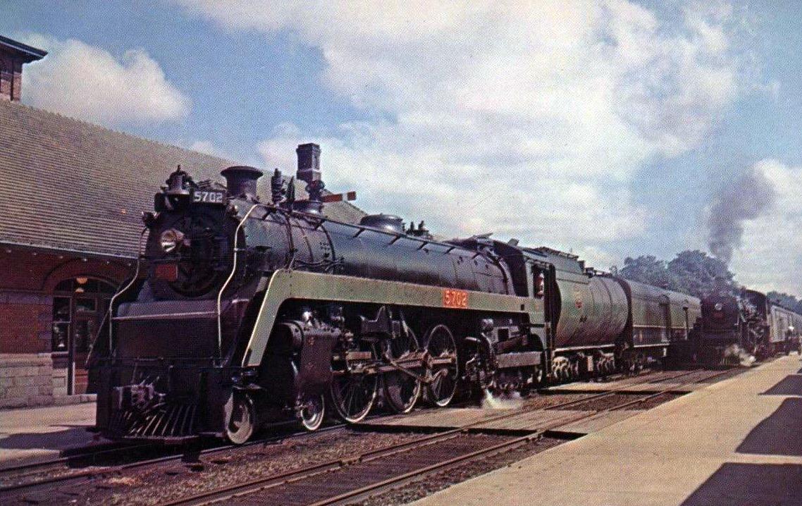 4-6-4 Henry Dreyfuss Train