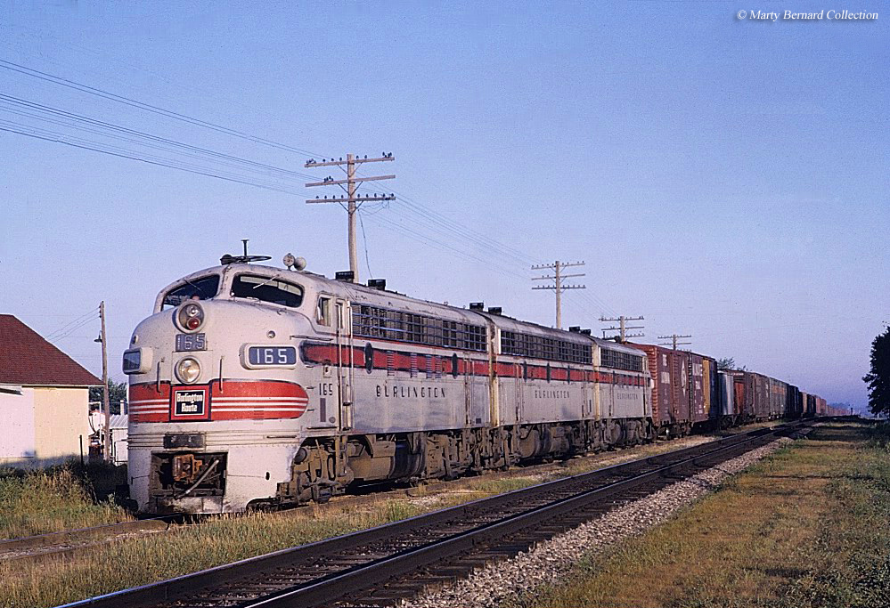 Information about the Chicago, Burlington Quincy Railroad