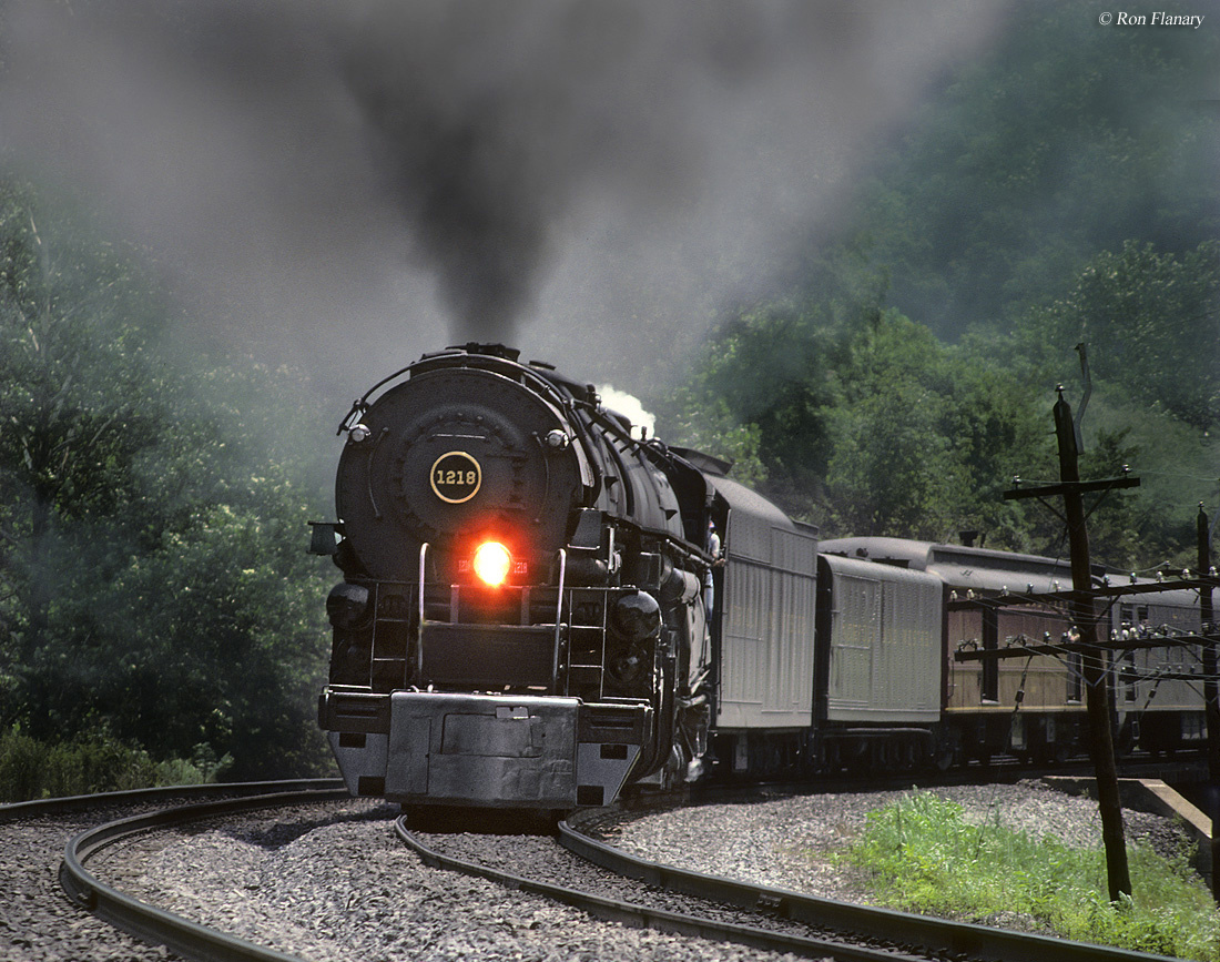 The Norfolk and Western 1218 ...