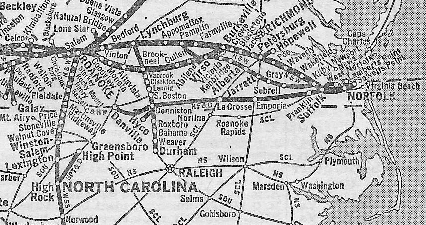 Norfolk Franklin And Danville Railway