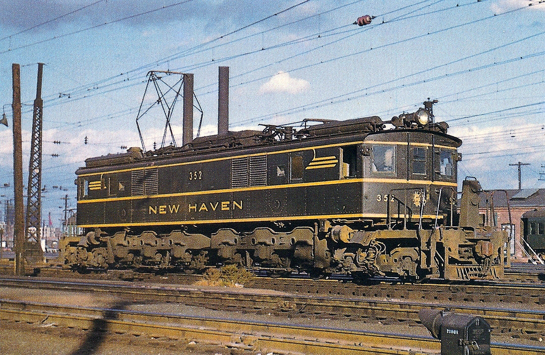 The New Haven Railroad