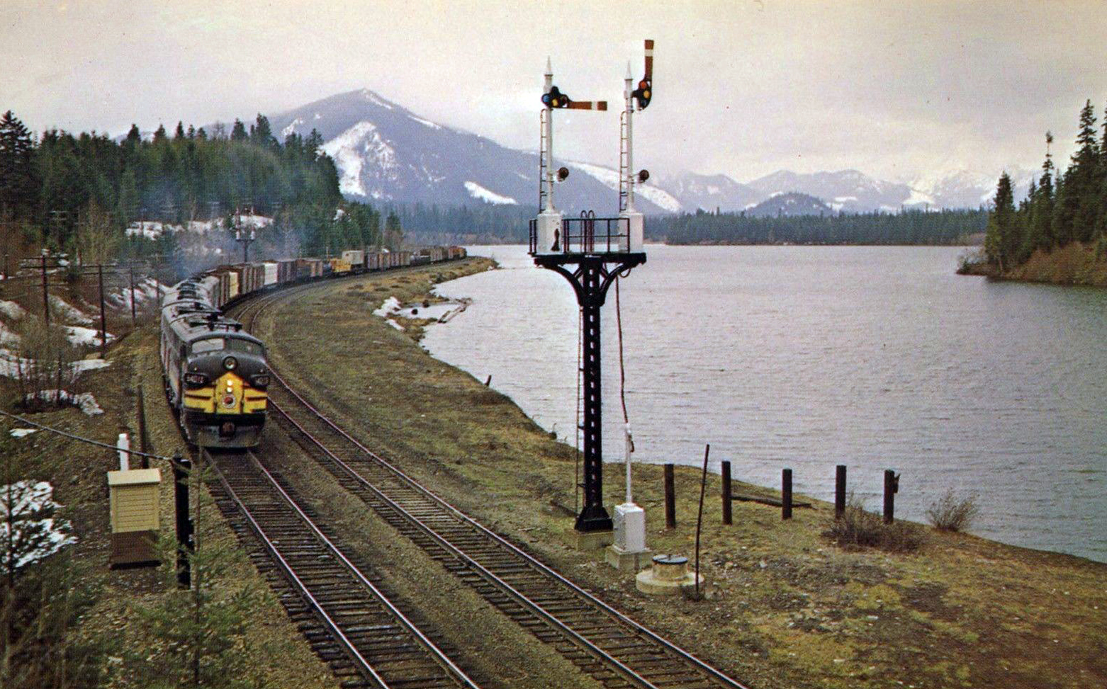 The Northern Pacific Railway