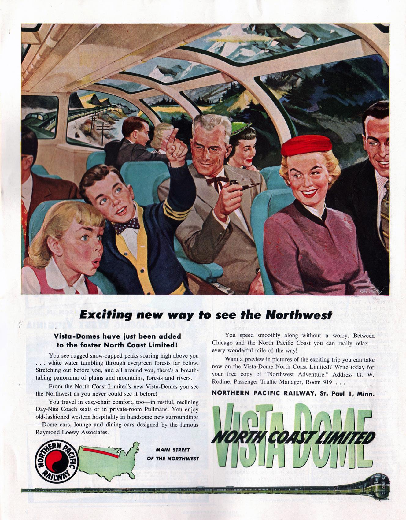 Image result for vintage train dome car