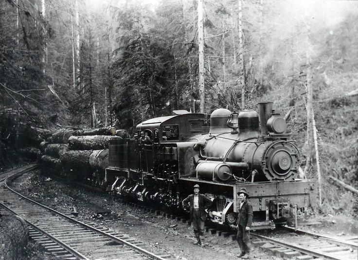Montana Logging Railroads