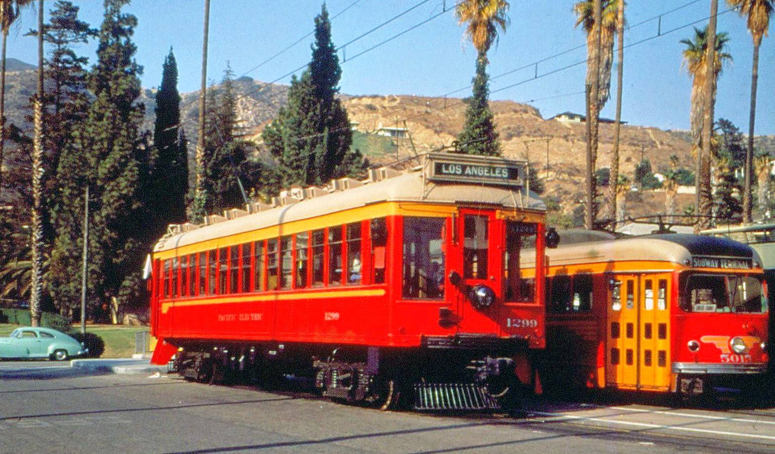 Pacific Electric Railway on Modes Of Transportation