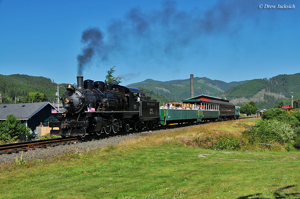 Oregon Train Rides And Museums