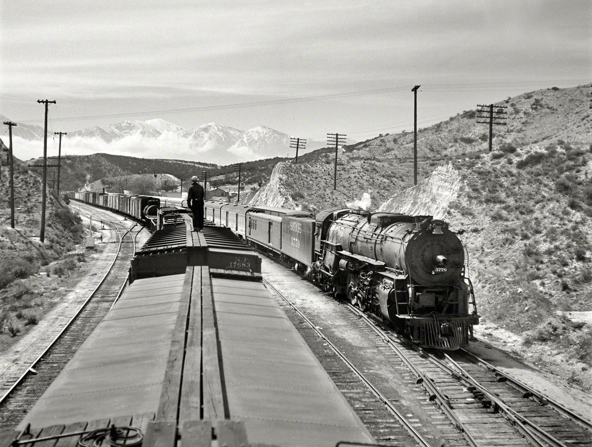 The Atchison Topeka And Santa Fe Railway