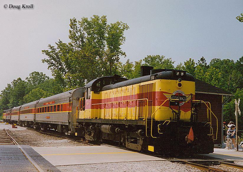 Tourist trains in surrounding states