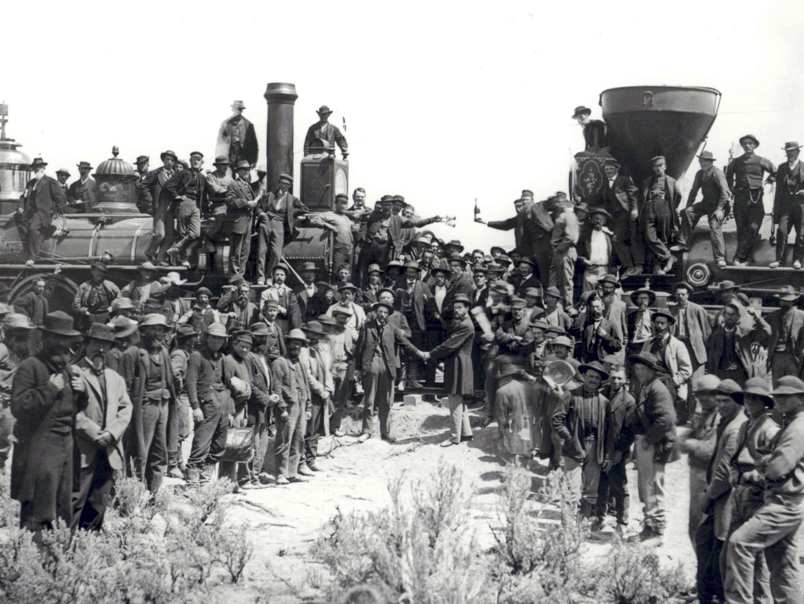 Image result for transcontinental railroad