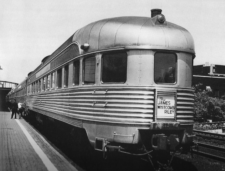 James Whitcomb Riley train consist