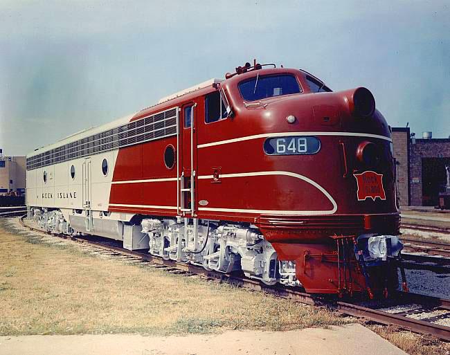 Rock Island Railroad Roster