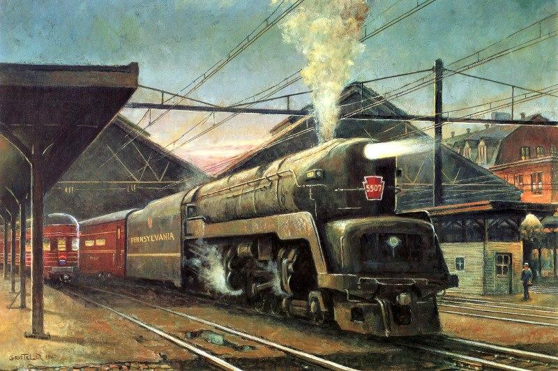 Duplex Drive Locomotive