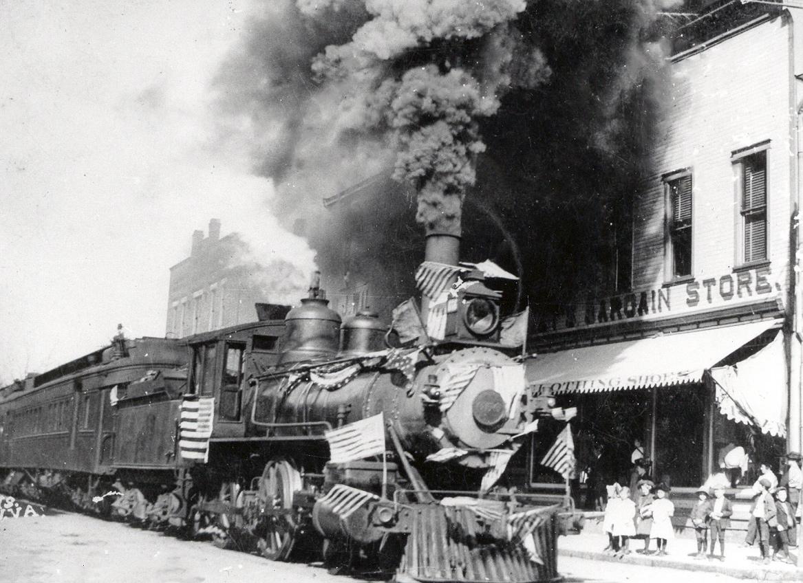 Oakley Gauge 8 >> 1880s Railroads, Achieving Standard Time